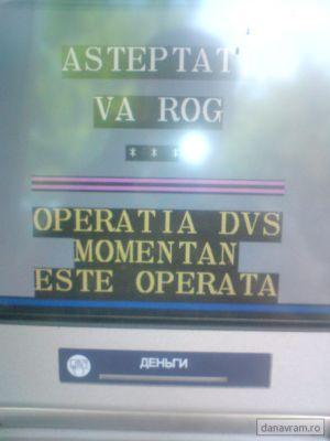 Chişinău - Operaţia dvs. momentan este operată